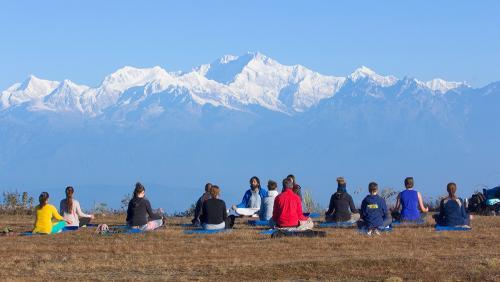 Yoga at Himalayan Deurali Resort & Spa